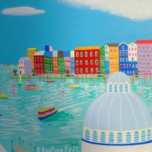 "Katrina Avotina Painting - ""Crystal Clear"""
