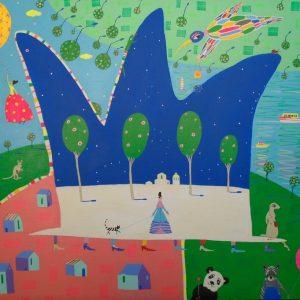 "Katrina Avotina Painting - ""Undefeatables"""