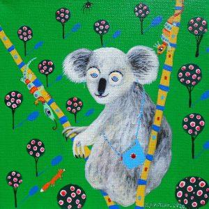 "Katrina Avotina Painting - ""It's me Ozzy"""