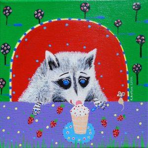"""Katrina Avotina Painting - """"Delicious"""""""