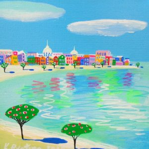 """Katrina Avotina Painting - """"Admire The Summer"""""""