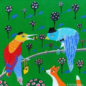 "Katrina Avotina Painting - ""Give It To Me"""