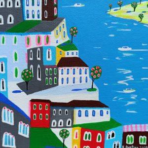 """Katrina Avotina Painting - """"Serenity"""""""