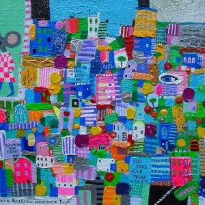 "Katrina Avotina Painting - ""And Then She Became An Artist"""