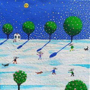 """Katrina Avotina Painting - """"Never Without You"""""""