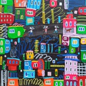 """Katrina Avotina Painting - """"We're Not Far Away"""""""
