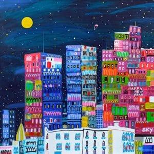 "Katrina Avotina Painting - ""Find A Hidden Star"""