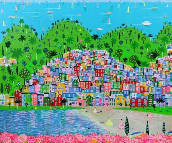 "Katrina Avotina Painting - ""Go Out & Live It"""