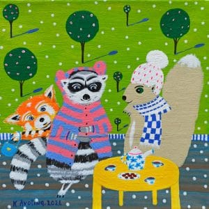 "Katrina Avotina Painting - ""Pass Me The Cookie"""
