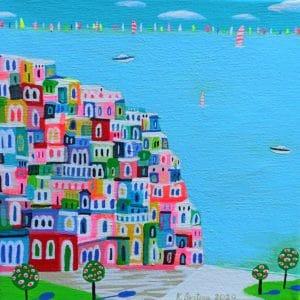 "Katrina Avotina Painting - ""Always Vibrant"""