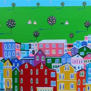 "Katrina Avotina Painting - ""Amazing Day Out"""