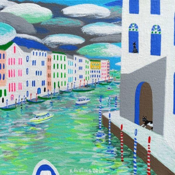 """Katrina Avotina Painting - """"Closer and Closer"""""""