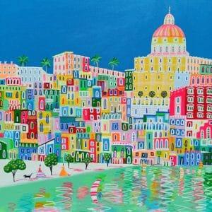 """Katrina Avotina Painting - """"Reflecting The Glory"""""""