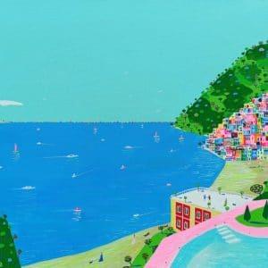 """Katrina Avotina Painting - """"Truly Breathtaking"""""""